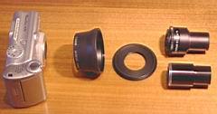 Canon A70 mit Adapter einzeln