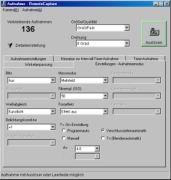 Screenshot RemoteCapture Aufnahmeeinstellungen
